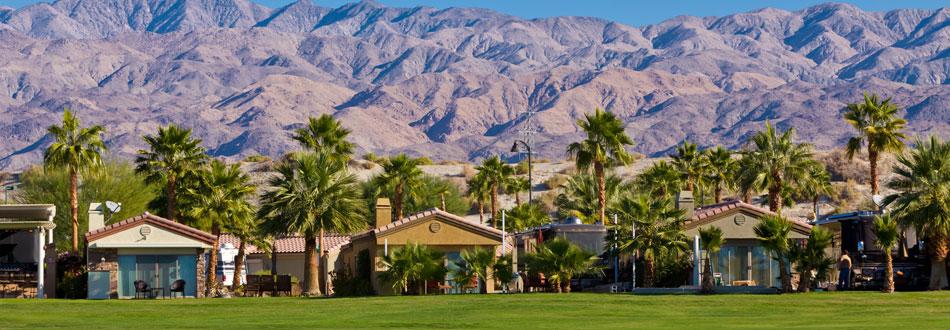 Luxury RV resort and properties amenities Coachella Valley